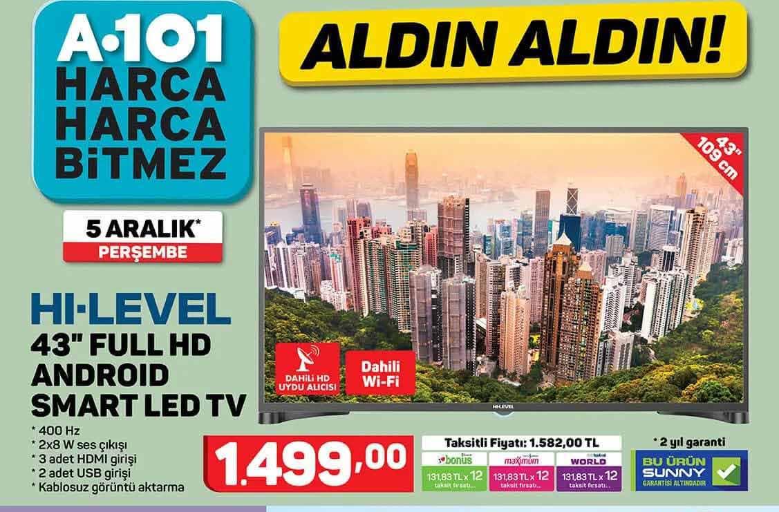 A101 5 Aralık 2019 Aktüel Ürünler Kataloğu Yayınlandı.