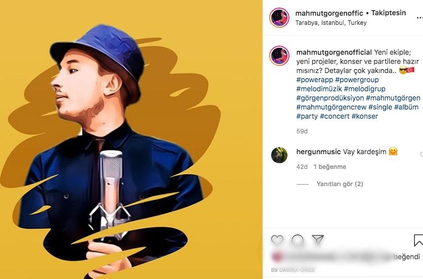 DJ Mahmut Görgen'den Yeni Ekip Paylaşımı