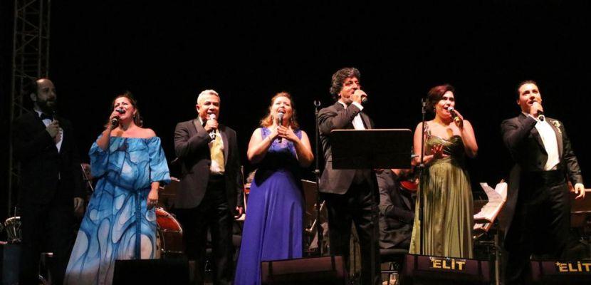 84.Bergama Kermesi'nin ilk günü muhteşem konserle taçlandı