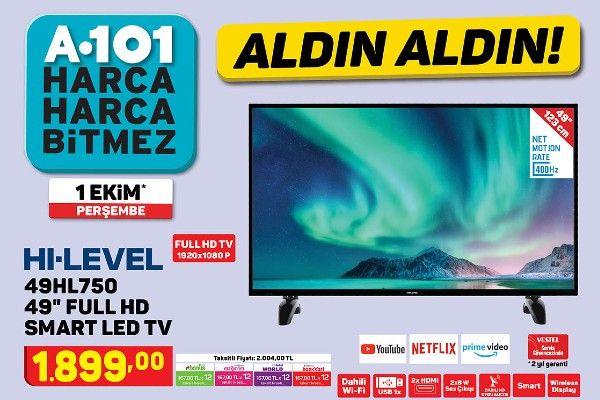 A101'de Ekim ayının ilk haftasında uygun fiyatlı teknolojik ürünler!