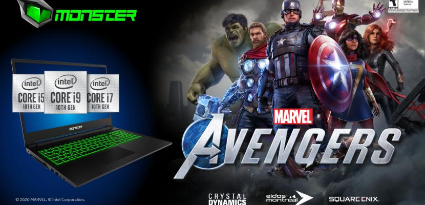 Monster Notebook'tan Marvel's Avengers sürprizi