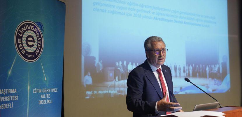 """Ege Üniversitesi """"2023 Akademik Vizyonu: Öğrenci Odaklılık"""" Toplantısı"""