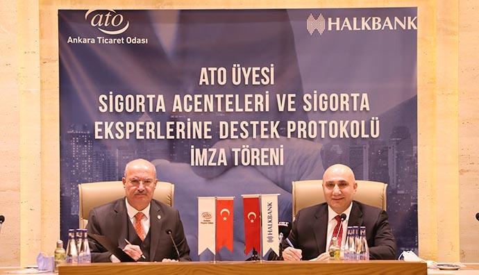 Halkbank sigorta sektörüne desteğe devam edeceğini açıkladı