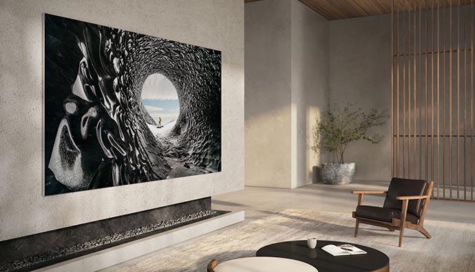 Samsung yeni televizyonlarını tanıttı