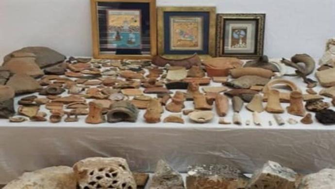 Antalya'da 274 Tarihi Eser Ele Geçirildi